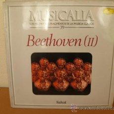 Dischi in vinile: MUSICALIA: Nº 39 - BEETHOVEN (II). Lote 33965172