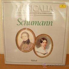 Discos de vinilo: MUSICALIA: Nº 33 - SCHUMANN. Lote 33965235