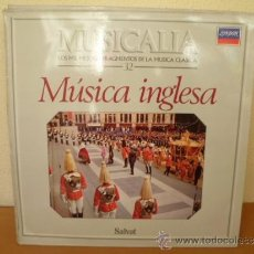Discos de vinilo: MUSICALIA: Nº 32 - MÚSICA INGLESA. Lote 33965239