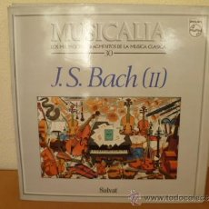 Discos de vinilo: MUSICALIA: Nº 30 - J.S. BACH (II).. Lote 33965245