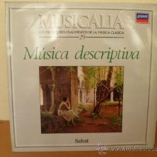 Discos de vinilo: MUSICALIA: Nº 29 - MÚSICA DESCRIPTIVA. Lote 33965258