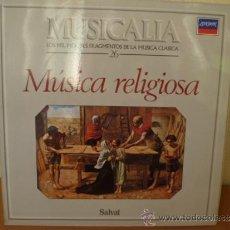 Discos de vinilo: MUSICALIA: Nº 26 - MÚSICA RELIGIOSA. Lote 33965289