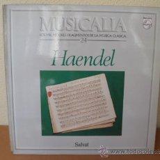 Discos de vinilo: MUSICALIA: Nº 24 - HAENDEL. Lote 33965304