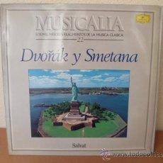 Dischi in vinile: MUSICALIA: Nº 22 - DVORÁK Y SMETANA. Lote 33965323