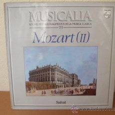 Dischi in vinile: MUSICALIA: Nº 19 - MOZART (II).. Lote 33965335