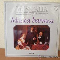 Dischi in vinile: MUSICALIA: Nº 10 - MÚSICA BARROCA. Lote 33965375