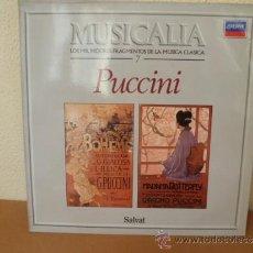 Dischi in vinile: MUSICALIA: Nº 7 - PUCCINI. Lote 33965391