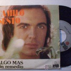 Discos de vinilo: CAMILO SESTO, CROONER, ALGO MAS. SINGLE ARIOLA ESPAÑA 1973, NUEVO. Lote 33966585