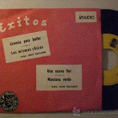 Discos de vinilo: SALGADO Y GRUPO DECIMO, LATIN FOX-ROCK INSTRUMENTAL LICENCIA PARA BAILAR, EP AUDIO 1975, PROMO NUEVO. Lote 40551836