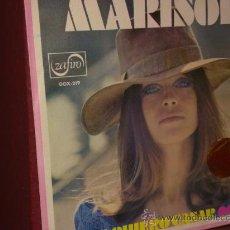 Discos de vinilo: DISCO VINILO DE MARISOL SINGLE 45 RPM. ZAFIRO COMO NUEVO DEL AÑO 1970 VER FOTOS ADICONALES. Lote 33970022