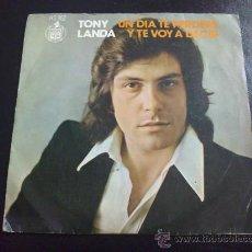 Discos de vinilo: TONY LANDA, UN DÍA TE PERDERÉ. Lote 33971009