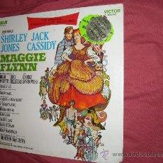 Discos de vinilo: THE ORIGINAL BROADWAY CAST RECORDING 'SHIRLEY JONES & JACK CASSIDY IN MAGGIE FLYNN' LP RCA USA-1. Lote 33972855