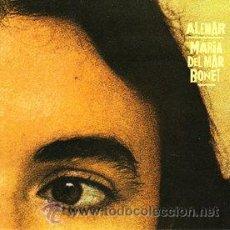 Discos de vinilo: MARIA DEL MAR BONET - ALENAR. Lote 33974698