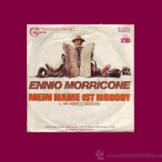 Discos de vinilo: MI NOMBRE ES NINGUNO DISCO SINGLE BANDA SONORA HENRY FONDA TERENCE HILL. Lote 9806583