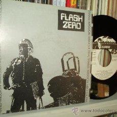 Discos de vinilo: FLASH ZERO SINGLE TRANS-MISSION MIXX A SIDE PROMO NEW BEAT TECHNO SPAIN MINT. Lote 33978305