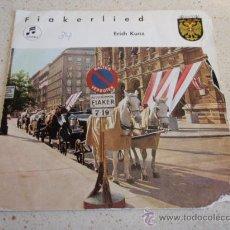 Discos de vinilo: ERICH KUNZ ' FIAKERLIED ' AUSTRIA EP45. Lote 33982996