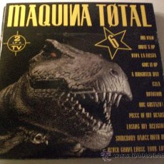 Disques de vinyle: MAQUINA TOTAL Nº6 DOBLE LP, VARIOS AUTORES, VER FOTO ADJUNTA, COMO NUEVO. Lote 187441240