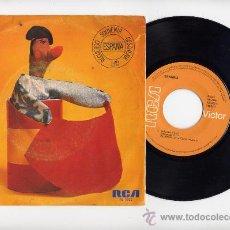 Discos de vinilo: SANGRIA.45 RPM. JUAN CARLOS CALDERON.EL GALLO+ESPAÑA CAÑI. RCA 1977. Lote 33986051