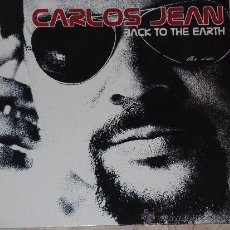 Discos de vinilo: LP- CARLOS JEAN- BACK TO THE EARTH-2002-. Lote 33987565