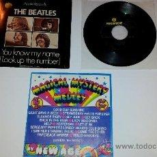 Discos de vinilo: 3 DISCOS DE VINILO DE LOS BEATLES. Lote 33987951