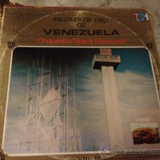 Discos de vinilo: ORQUESTA TÍPICA NACIONAL, 'PÁGINAS DE ORO DE VENEZUELA'. DISCOS TOP HITS. 1979.. Lote 33989057