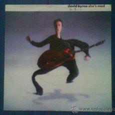 Discos de vinilo - DAVID BYRNE SHE´S MAD - 33992607