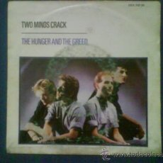 Discos de vinilo: TWO MINDS CRACK THE HUNGER AND THE GREED. Lote 33995239