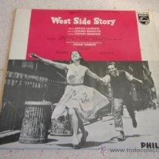 Discos de vinilo: 'WEST SIDE STORY' ( MARIA - TONIGHT - I FEEL PRETTY - GEE, OFFICER KRUPKE ) SWEDEN EP45. Lote 33997788