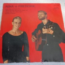 Discos de vinilo: NINA & FREDERIK (EDEN WAS JUST LIKE THIS - WHEN WOMAN SAY NO SHE MEAN YES - HAPPY DAYS - MALADIE D'. Lote 33997960