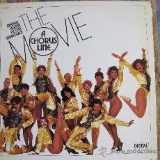 Discos de vinilo: LP - A CHORUS LINE-THE MOVIE - ORIGINAL MOTION PICTURE SOUNDTRACK (SPAIN, CASABLANCA RECORDS 1985). Lote 71427983