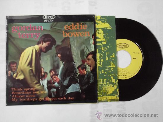 GORDAN TERRY / EDDIE BOWEN THING SPRING + 3 EP EPIC ORIGINAL SPAIN 1965 @ COUNTRY @ UN EP A ESTRENAR (Música - Discos de Vinilo - EPs - Country y Folk)