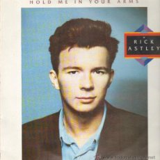 Discos de vinilo: RICK ASTLEY HOLD ME IN YOUR ARMS LP. Lote 51056482