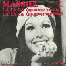 Discos de vinilo: MASSIEL EUROVISION ´68 SINGLE SELLO PHLIPS EDITADO EN HOLANDA. . Lote 34004367