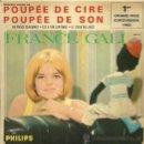 Discos de vinilo: FRANCE GALL EUROVISION ´65 EP SELLO PHILIPS EDITADO EN FRANCIA. . Lote 34004517