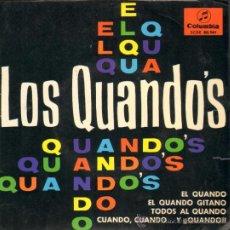 Discos de vinilo: MUSICA GOYO - EP VINILO - LOS QUANDOS - CONSERVA EL TRIANGULO CENTRAL *BB99. Lote 34008536