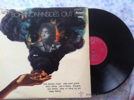 LP BOHANNON-INSIDES OUT (Música - Discos - LP Vinilo - Pop - Rock - Extranjero de los 70)