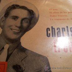 Discos de vinilo: CHARLES TRENET - LA VOZ DE SU AMO . Lote 34018353