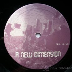 Discos de vinilo: A NEW DIMENSION *+ RAIN DROPS / MAXI DANCER PLANET RECORD PEPETO. Lote 105141348