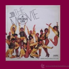 Discos de vinilo: A CHORUS LINE THE MOVIE LP PORTADA DOBLE BANDA SONORA ORIGINAL MUSICA MARVIN HAMLISH. Lote 15279342