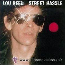 Discos de vinilo: LOU REED - STREET HASSLE. Lote 34018945