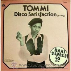 Discos de vinilo: TOMMI - DISCO SATISFACTION. Lote 34019192