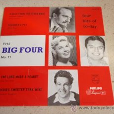 Discos de vinilo: DORIS DAY ( TEACHER'S PET ) GUY MITCHELL ( THE LORD MADE A PEANUT ) FRANKIE VAUGHAN ( KISSES SWEE. Lote 34031953
