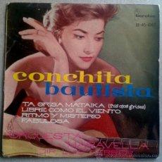 CONCHITA BAUTISTA - EP SPAIN 1961 - FESTIVAL MEDITERRANEO - IBEROFON 1067