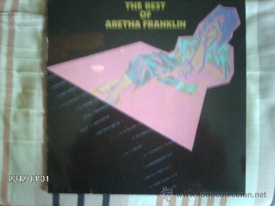 ARETHA FRANKLIN - THE BEST OF ARETHA FRANKLIN (Música - Discos - LP Vinilo - Funk, Soul y Black Music)