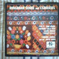 Discos de vinilo: SANDOR JAROKA AND HIS GIPSY BAND - HUNGARIAN SONGS AND CSARDASES . Lote 34071937