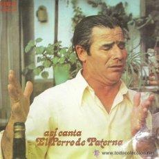 Discos de vinilo: EL PERRO DE PATERNA. Lote 34032725