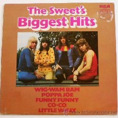 Discos de vinilo: THE SWEET ··· THE SWEET'S BIGGEST HITS - (LP). Lote 34033362