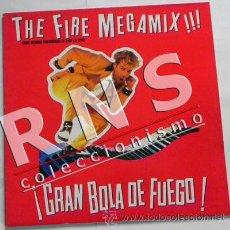 GRAN BOLA DE FUEGO JERRY LEE LEWIS THE FIRE MEGAMIX ROCK ED. LIMIT. MAXI MÚSICA R&R DISCO VINILO