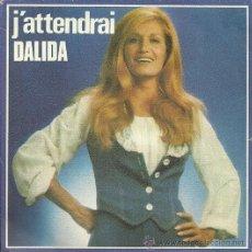 Discos de vinilo: DALIDA SINGLE SELLO SONOPRESSE EDITADO EN FRANCIA. Lote 34039965