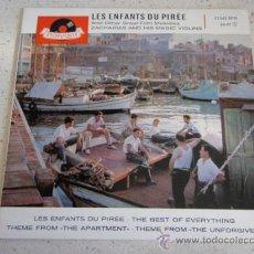 Discos de vinilo: ZACHARIAS & HIS MAGIC VIOLINS (LES ENFANTS DU PIRÉE - THE BEST OF EVERYTHING - THEME FROM 'THE APAR. Lote 34040954